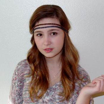 Hippi Style Beaded Headbands, Boho Beaded Headband, Stretch Beaded Headband, headbands, adult headbands
